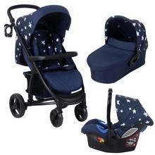 My Babiie Abbey Clancy MB200 Travel System - Navy Star