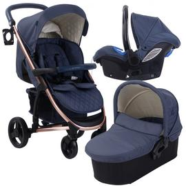 My Babiie Billie Faiers MB200 Travel System - Rose Navy