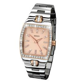 Seksy by Sekonda Ladies Stainless Steel Bracelet Watch
