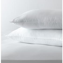 Argos Home Stain Resistant Medium Pillow - 2 Pack