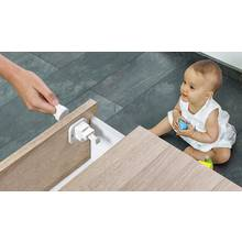 Fred Invisable Magnet Lock x 2 Pack - Pure White