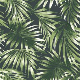 Superfresco Easy Elegant Leaves Green Wallpaper