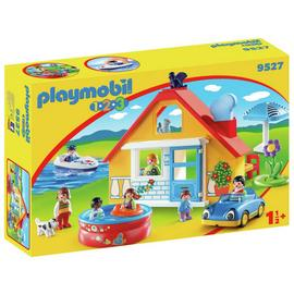 Playmobil 9527 123 Holiday Cottage Playset