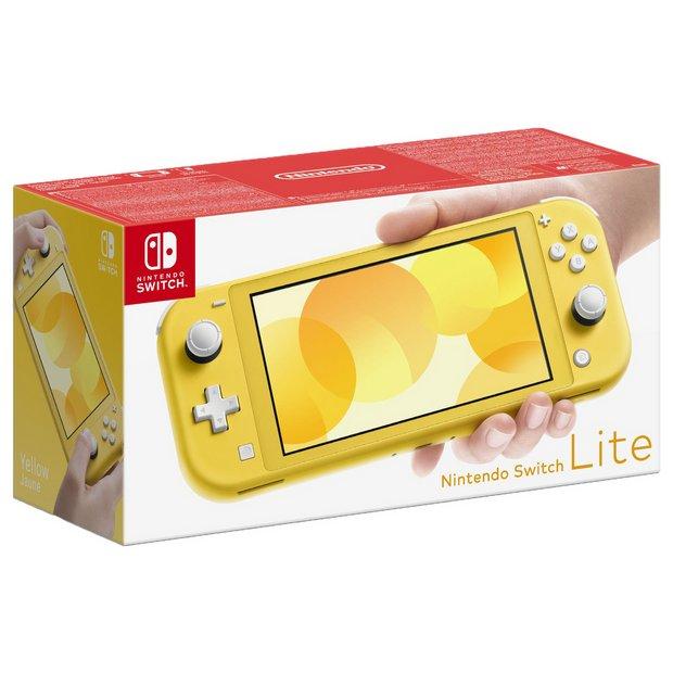 Buy Nintendo Switch Lite Handheld Console Yellow Nintendo