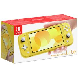 Nintendo Switch Lite Handheld Console - Yellow