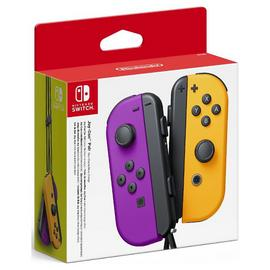 Nintendo Switch Joy-Con Controller Pair - Purple & Orange