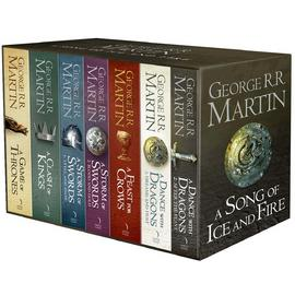 A Song of Ice and Fire 7 Volume Book Box Set