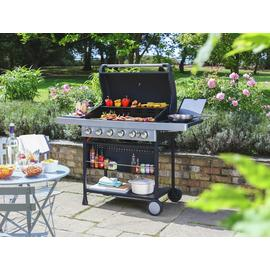 Argos Home Premium 6 Burner Gas BBQ