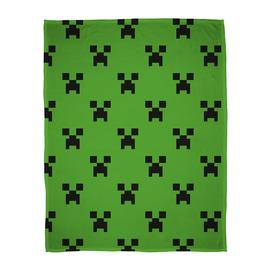 Minecraft Emerald Flannel Fleece