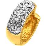 more details on 9ct Gold Diamond Hoop Earring.