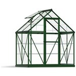 more details on Palram Harmony Green Greenhouse - 6 x 4ft.