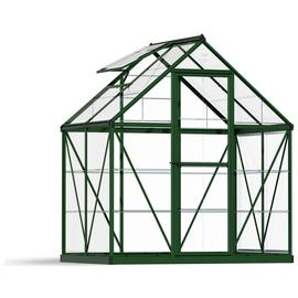Palram Harmony Green Greenhouse - 6 x 4ft.