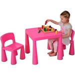 more details on Liberty House Toys Multi-Purpose Table Set - Pink.