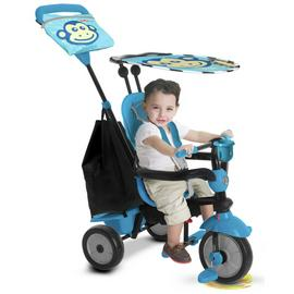 smarTrike Touch Steering 4-in-1 Safari Ride On - Monkey