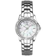 Accurist Ladies' Stone Set Stainless Steel Bracelet Watch