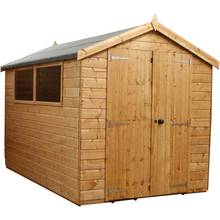 Mercia Premium Shiplap Wooden Shed - 10 x 6ft