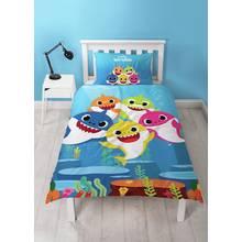 Baby Shark Underwater Children's Bedding Set - Single