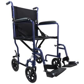 Aidapt Steel Compact Blue Transit Chair