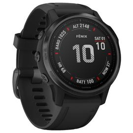 Garmin Fenix 6S Pro GPS Smart Watch - Black / Black Band