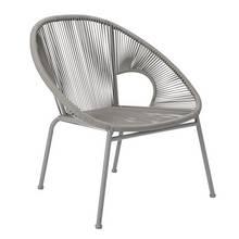 Argos Home Nordic Spring Garden Chair - Grey