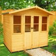 more details on Homewood Haddon Wooden Summerhouse - 7 x 5ft.