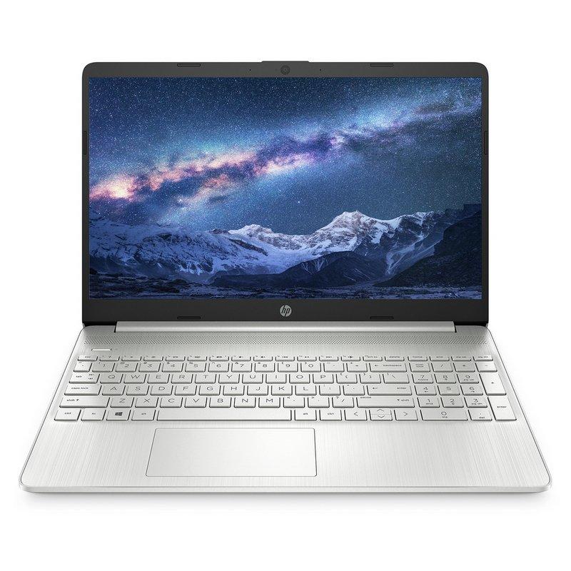 HP 15.6 Inch Slim i3 4GB 128GB FHD Laptop - Silver from Argos