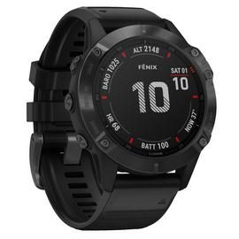 Garmin Fenix 6 Pro GPS Smart Watch - Black / Black Band
