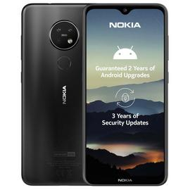 SIM Free Nokia 7.2 64GB Mobile Phone - Charcoal