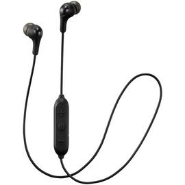 JVC HAFX9BT Gumy In-Ear Wireless Headphones - Black