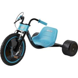 Elektra Flashing Hog Ride On - Blue