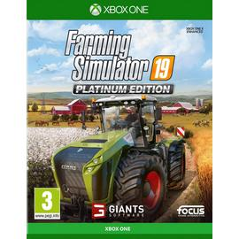 Farming Simulator 19 Platinum Edn Xbox One Pre-Order Game