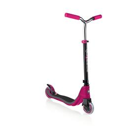 Globber Flow 125 Scooter - Ruby and Grey