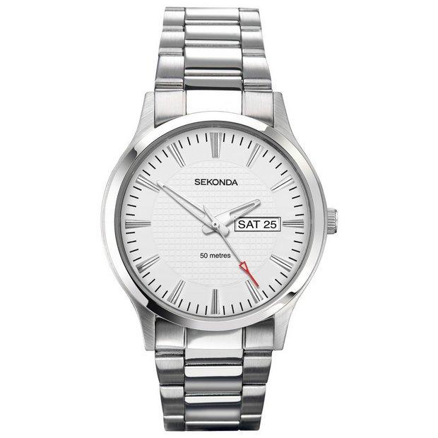 buy sekonda men s watches at argos co uk your online shop for more details on sekonda men s stainless steel bracelet watch