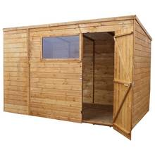 Mercia Shiplap Wooden Shed - 10 x 8ft
