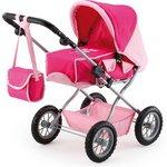 more details on Bayer Combi Grande Dolls Pram - Pink.