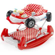 MyChild Car 2 In 1 Baby Walker Red.