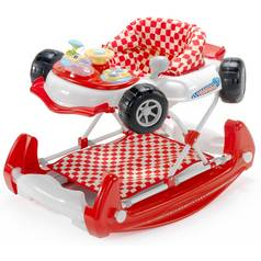 MyChild Car 2 In 1 Baby Walker Red