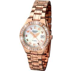 Sekonda Classique Ladies' Rose Gold Plated Stone Set Watch