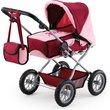 more details on Bayer Combi Grande Dolls Pram - Bordeaux.
