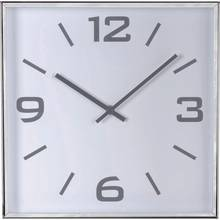 Heart of House Jermyn Square Wall Clock - Silver