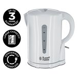 more details on Russell Hobbs Essentials White Plastic Jug Kettle 21441.