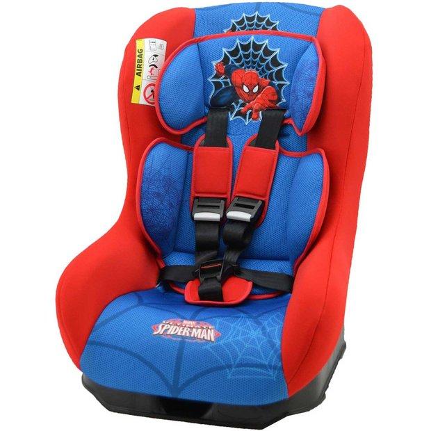 buy marvel spider man driver car seat blue at your online shop for car seats. Black Bedroom Furniture Sets. Home Design Ideas