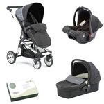 more details on Baby Elegance Beep Twist Travel System - Black.