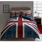 more details on HOME Check Union Jack Multicoloured Bedding Set - Double.