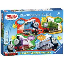 Ravensburger Thomas & Friends Large 4 Shaped Jigsaw Puzzles