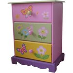 more details on Liberty House Toys Butterfly Garden 3 Drawer Storage.