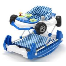 MyChild Car 2 In 1 Baby Walker - Blue.