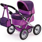 more details on Bayer Trendy Dolls Pram - Plum and Purple.