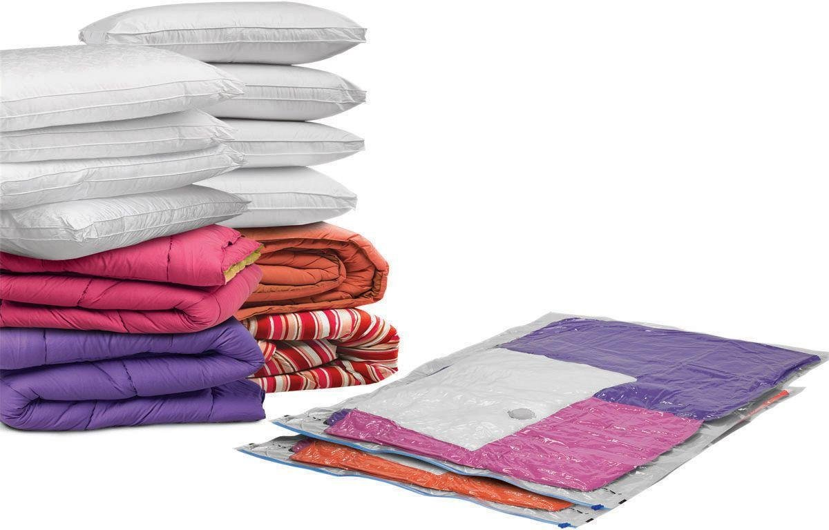 protect u0026 store large flat vacuum storage bag 2 piece set