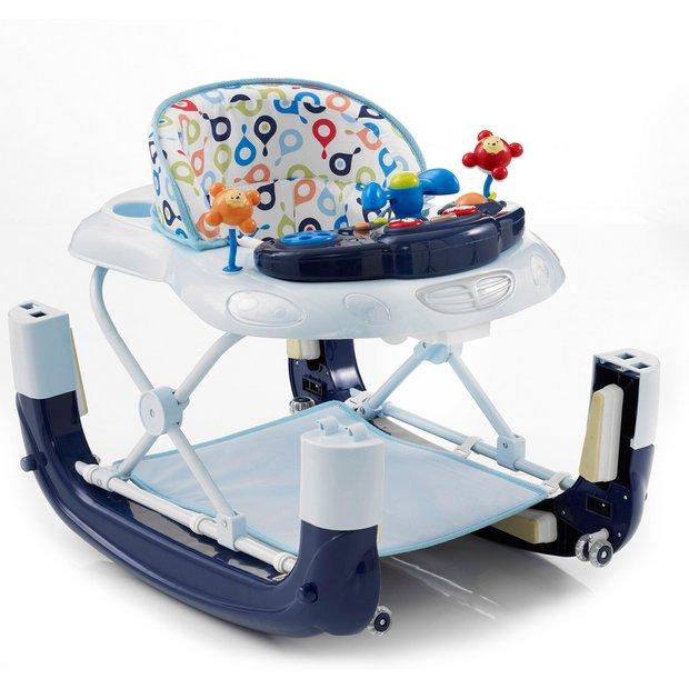 buy mychild walk n rock 2 in 1 baby walker blue at your online shop for baby. Black Bedroom Furniture Sets. Home Design Ideas
